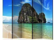 Paraván - Exotic landscape in Thailand, Railay beach II [Room Dividers]
